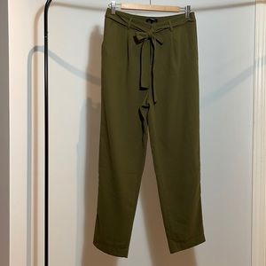 Forever 21 High Waisted Paperbag Pants